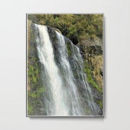 Hunua Falls, NZ Metal Print