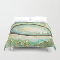 minerals Duvet Covers featuring MINERALISTIC by Catspaws