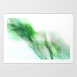 Floral Abstract I - JUSTART © Art Print