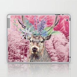 Floral Stag Laptop & iPad Skin
