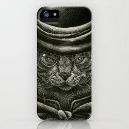 Classy Cat iPhone Case