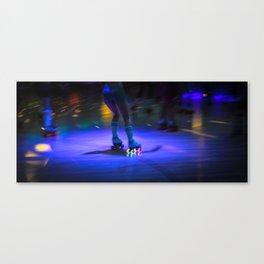 Roller Disco Canvas Print