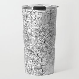 Rome Map Line Travel Mug