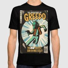 Greedo Vintage Comic Cover MEDIUM Mens Fitted Tee Black