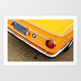 Orange Gum Art Print