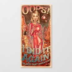 Oops!... I Did It Again - Britney Spears Canvas Print