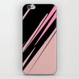 abstract / cut my love into pieces iPhone Skin
