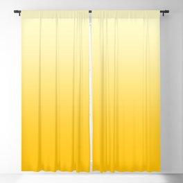 Cream Yellow to Amber Orange Linear Gradient Blackout Curtain