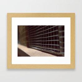 atnight Framed Art Print