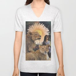 The Lionesses Unisex V-Neck
