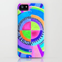 Meditation Mandala iPhone Case