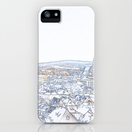 Memoirs of the Old Bohemian Town iPhone Case