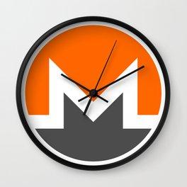 Monero Cryptocurrency Wall Clock