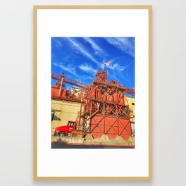 Gilbert's Feed Co. – Oakdale, California, USA Framed Art Print