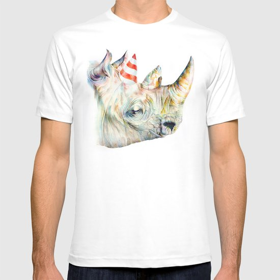 Rhino's Party T-shirt
