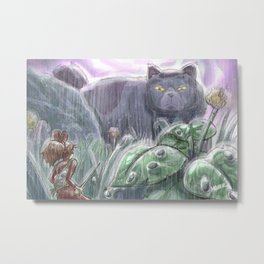 Arrietty and the Colossus Metal Print