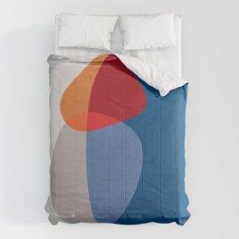Modern shapes 2 Comforters