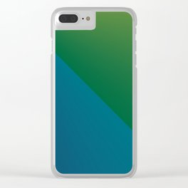 Simply Gradient Clear iPhone Case