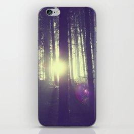 Forrest sun. iPhone Skin