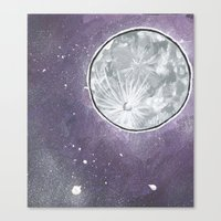 lunar Canvas Prints featuring Lunar by Cody Fisher