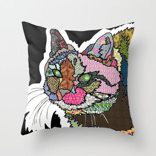 Mi Otra Gato Muerto Throw Pillow