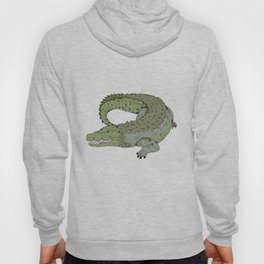 Crocodile Hoody