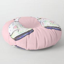 STAFFORDSHIRE GREYHOUND TWINS Floor Pillow