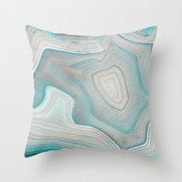 AGATE BEAUTY Throw Pillow