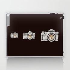 White Camera Laptop & iPad Skin