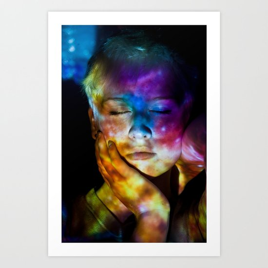 Universal Mind: Projection Series #8 Art Print