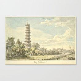 Pagoda at Kew Canvas Print