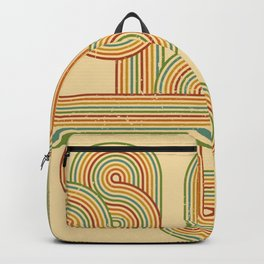 Never-ending Retro Rainbow Backpack