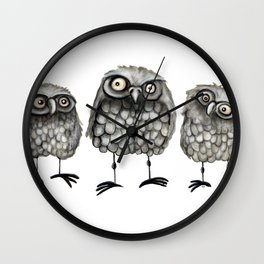 What We See Wall Clock