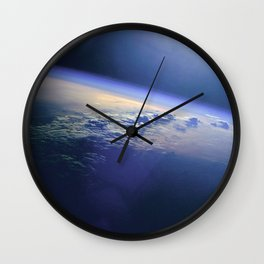 Indian Ocean Seen From Space Wall Clock