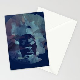 Black Power Stationery Cards