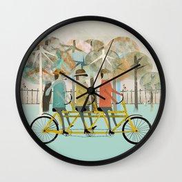 the tandem trio Wall Clock