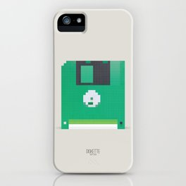 Pixelated Technology - Diskette iPhone Case