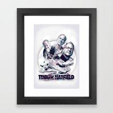 TINKER HATFIELD: DESIGN HEROES Framed Art Print