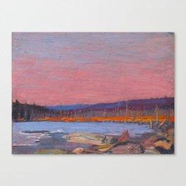 Tom Thomson A Northern Lake Canadian Landscape Artist Canvas Print