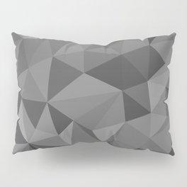 black polygon background Pillow Sham