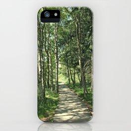 walk in the bog iPhone Case