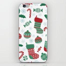 Christmas Stockings iPhone Skin