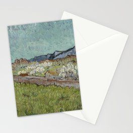 View of the Alpilles Stationery Cards