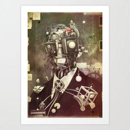 Portrait of nostalgia Art Print