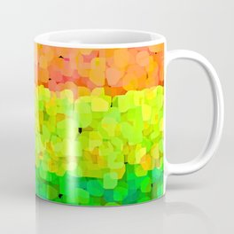 Sparkle Glitter Orange Coffee Mug