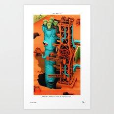 POP HELL #7 Art Print