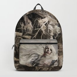 Raven Berry Backpack