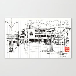 University of the West Indies Library Canvas Print