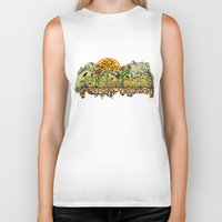 yosemite Biker Tanks featuring Yosemite  by Geryes
