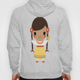 Mexican Girl Hoody